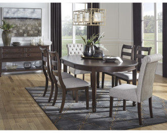ADINTON DINING TABLE 6 CHAIRS