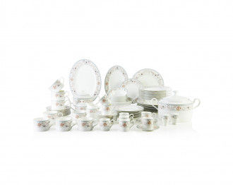 ROOBANI DINNER SET OF 75 PCS