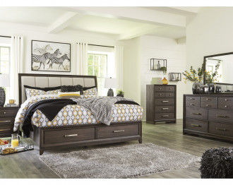 BRUEBAN Bedroom Set King Size