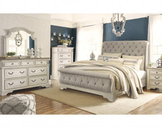 REALYN BEDROOM SET KING SIZE