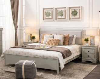 JORSTAD BEDROOM SET KING SIZE (193*203CM)