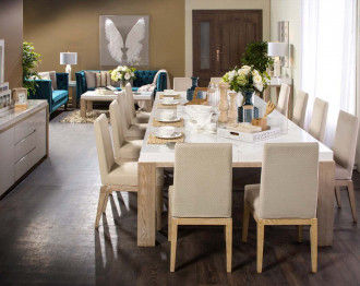 CAPRI DINING TABLE SET 12 CHAIRS