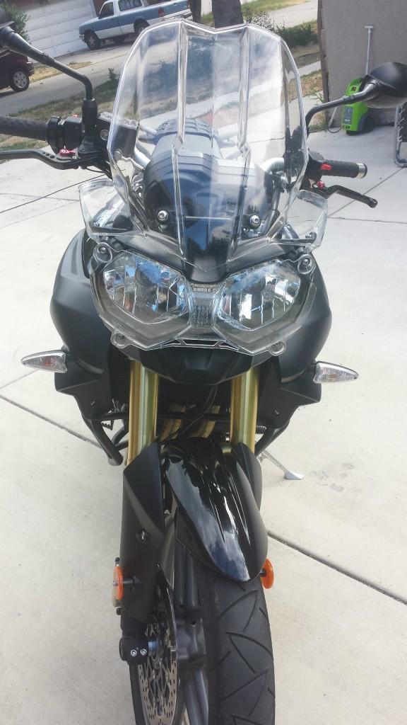 2012 Triumph Tiger 800 Black
