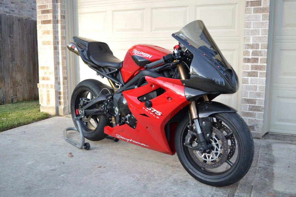 2011 Triumph Daytona 675 Track or Race Bike