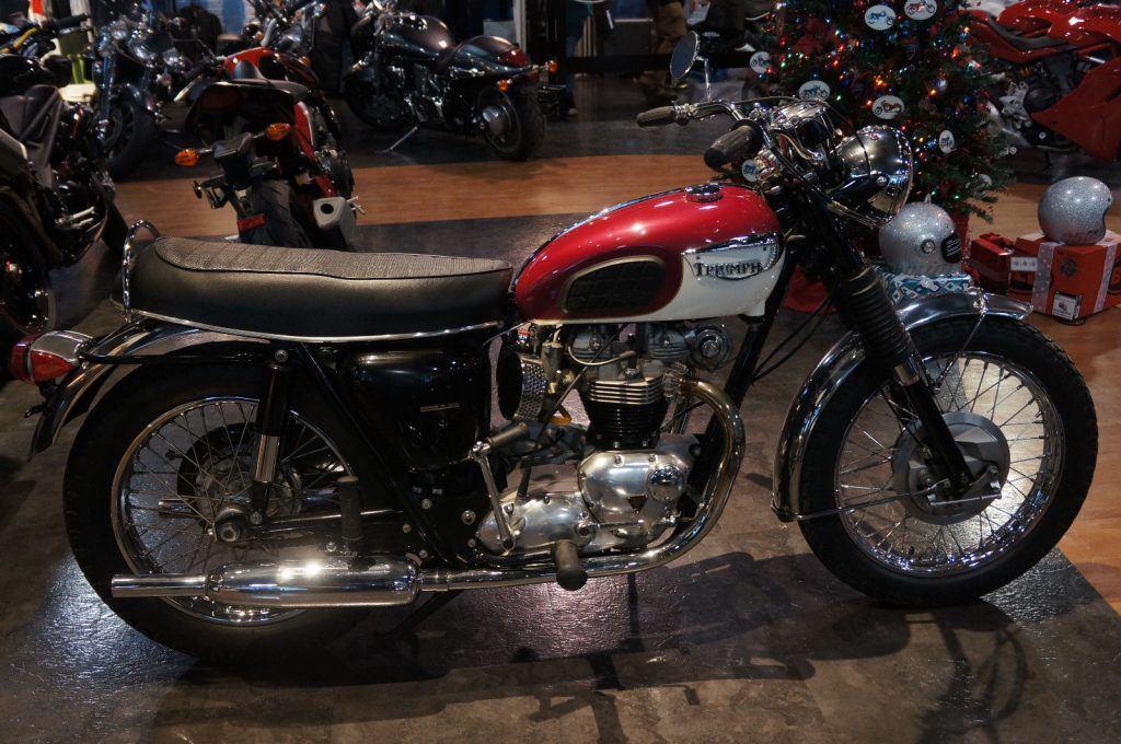 An Amazing Condition 1969 Triumph Bonneville T120R