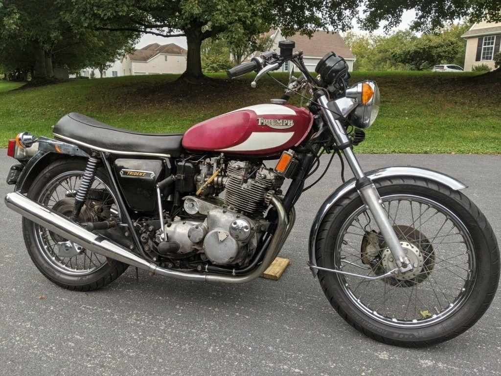 1975 Triumph Trident T160 750cc Triple