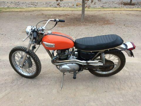 1970 Triumph T100C Trophy for sale