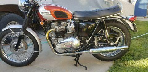 1969 Triumph Bonneville T120R Numbers Matching for sale