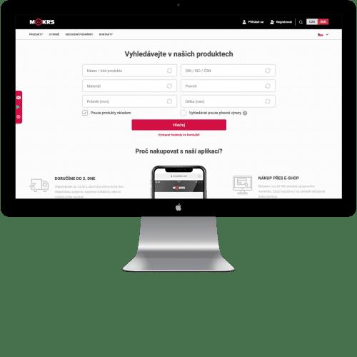 Převzetí vývoje B2B e-shopu