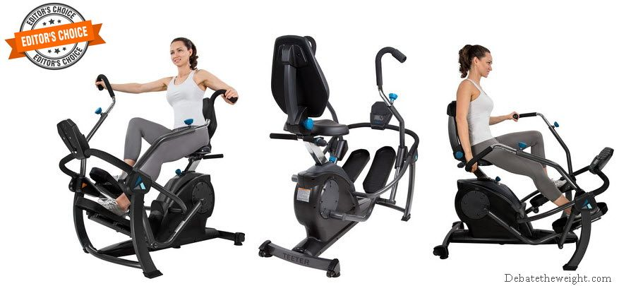 Teeter FreeStep Recumbent Cross Trainer and Elliptical - LT1