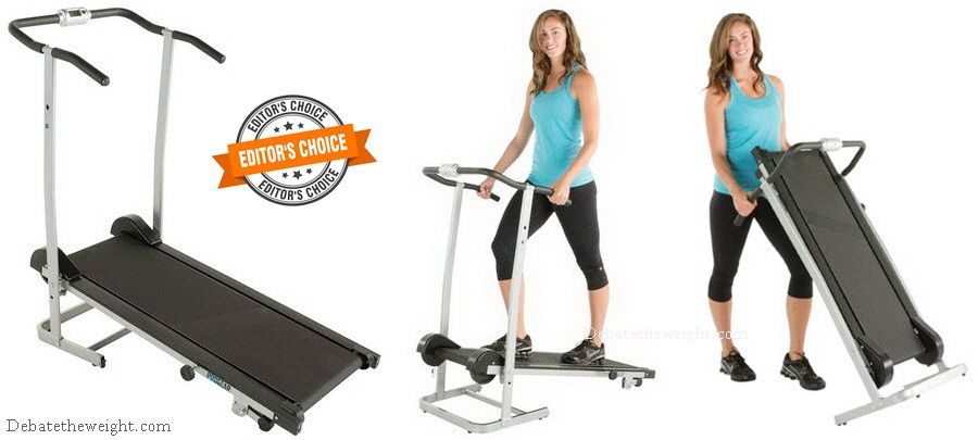 ProGear-190-Manual-Treadmill - Editor's Choice