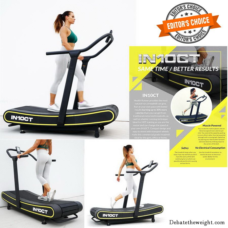 IN10CT Health Runner Curved Treadmill
