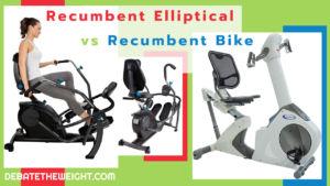 Recumbent Elliptical vs Recumbent Bike