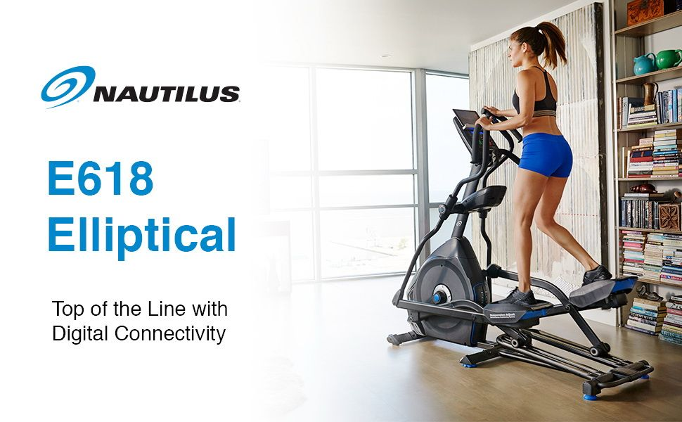 Nautilus Elliptical Trainer E618