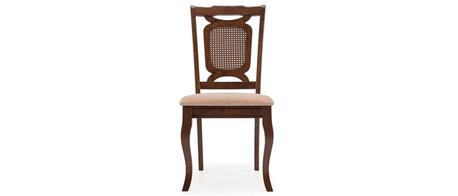 Trafford, Brown - Dark Oak- Solid Wood Dining Chair