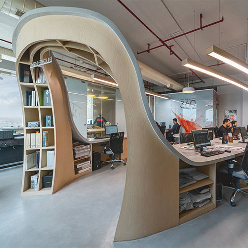 The Spatial Stimuli - An Architect's Office