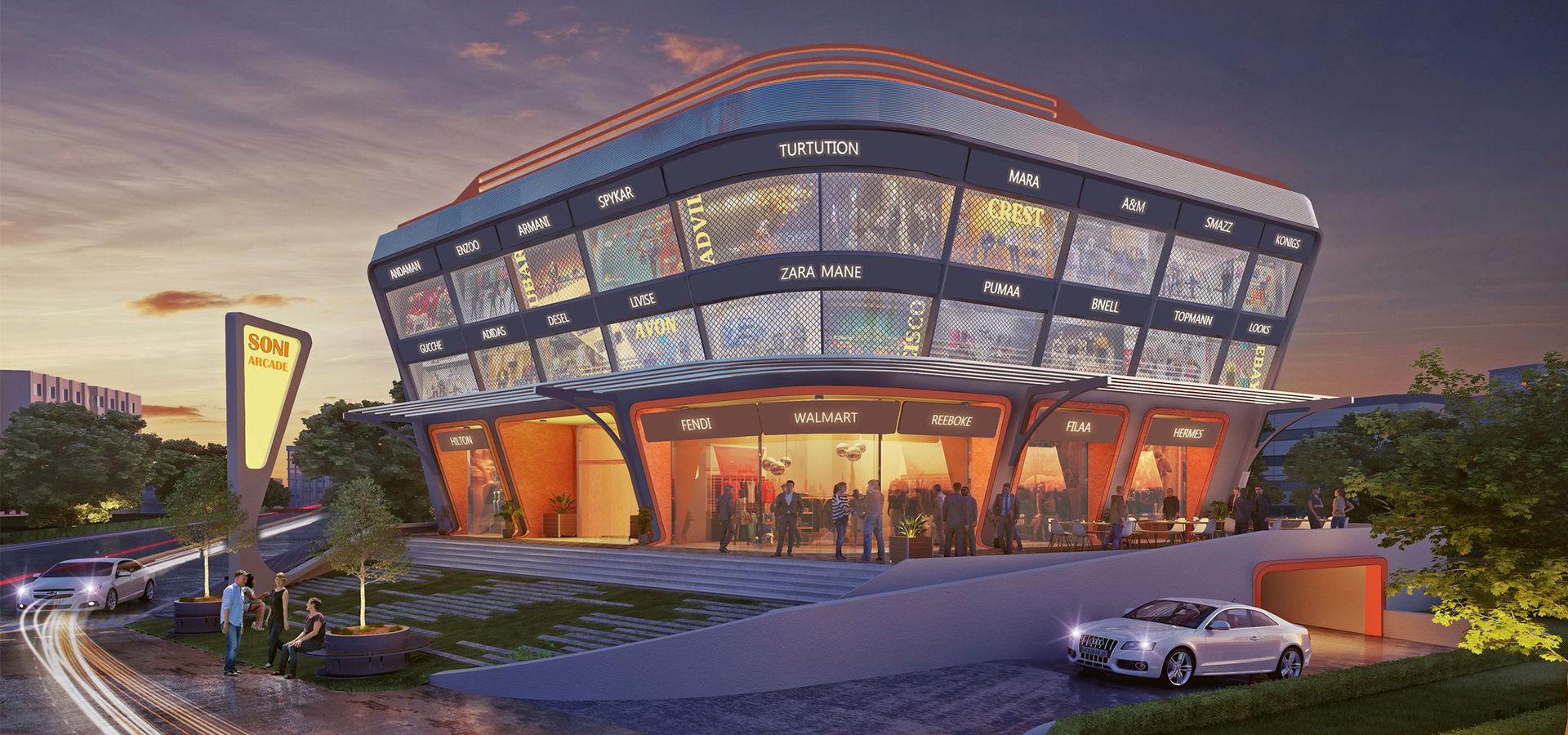 Soni Commercial Center