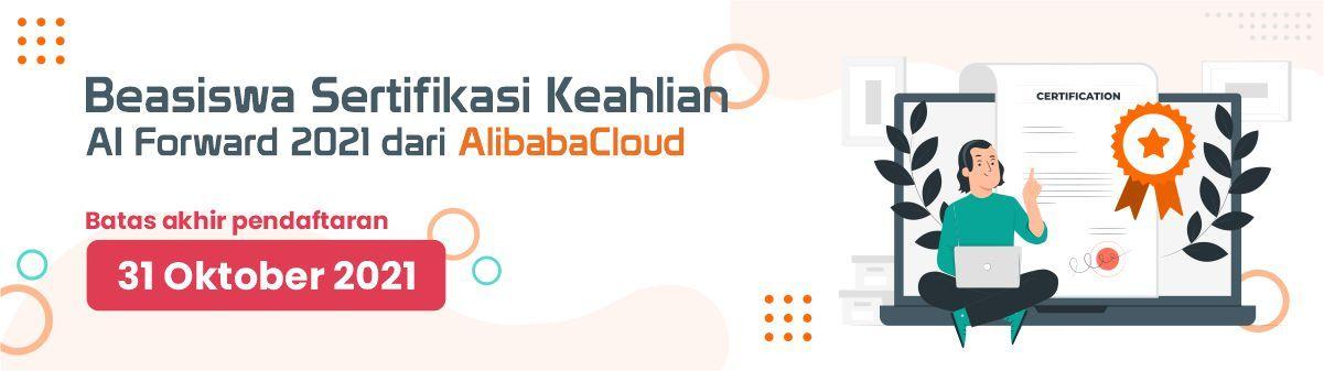 Beasiswa Alibaba AI Forward