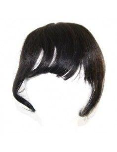 Frange à Cliper cheveux noir