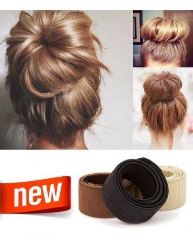 Chignon Bun Facile Rapide Extens Hair