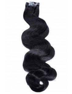 extensions cheveux ondulés naturels remy hair