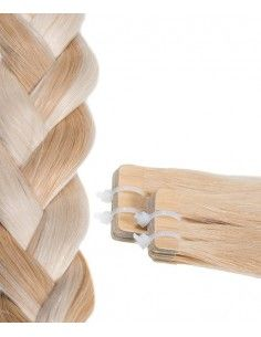 Platin blond Kupfer Tape Haar