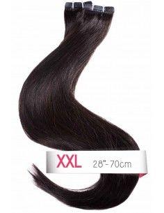 Schwarz Tape Haarverlängerung