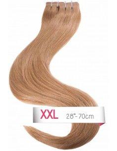 Extensions adhésives cheveux noisette 1000