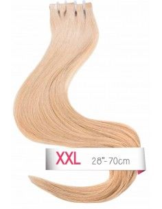 extension bande adhésive blond caramel