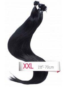 Extension remy hair à chaud noir
