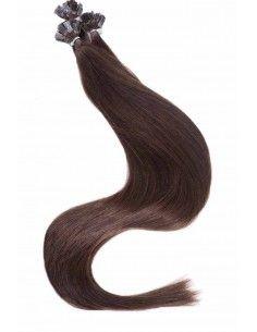 Echthaar Strähnen Haarverlängerung mit Keratin Bonding