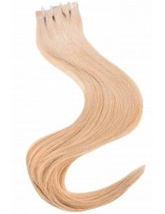 extensions cheveux blond caramel tape