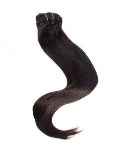 Rajout à Clip Cheveu noir