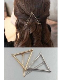 pince pour cheveux triangle