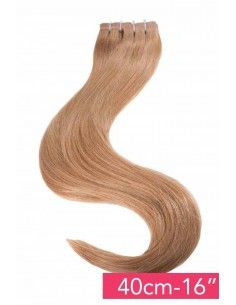 Extension Slim tape hair Noisette