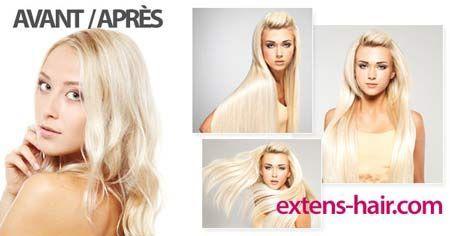 Extensions de cheveux à Nyon avant après