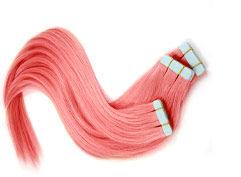 extensions cheveux rouges