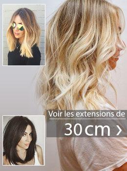 extensions de cheveux 30 cm
