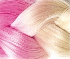 extension cheveux rose