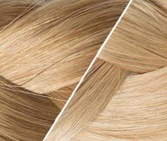extensions adhésive tie and dye blondes