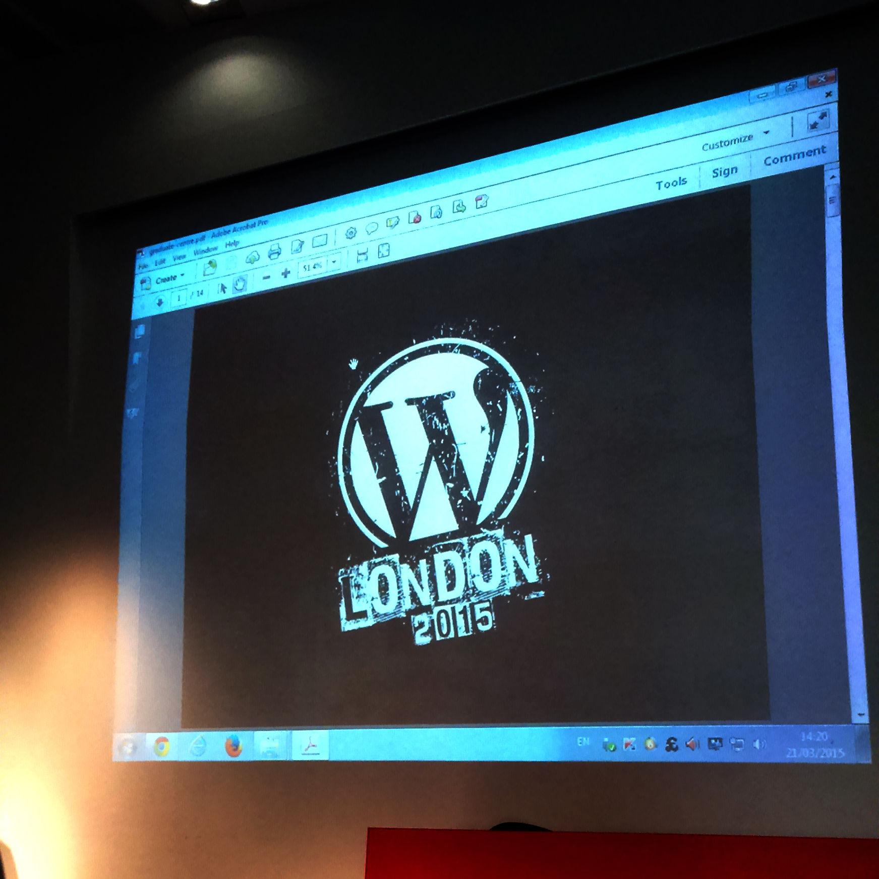 London Wordcamp