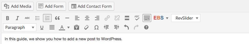 WordPress Post Story