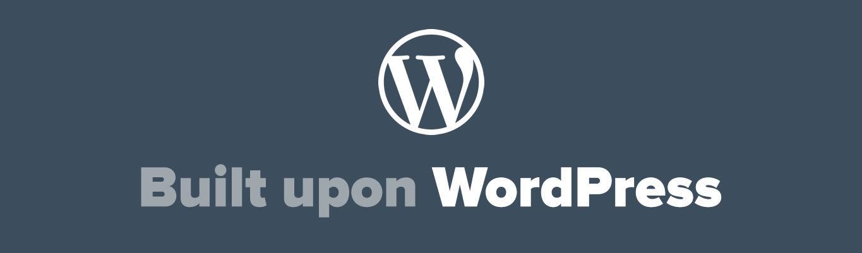 Built upon WordPress Badge