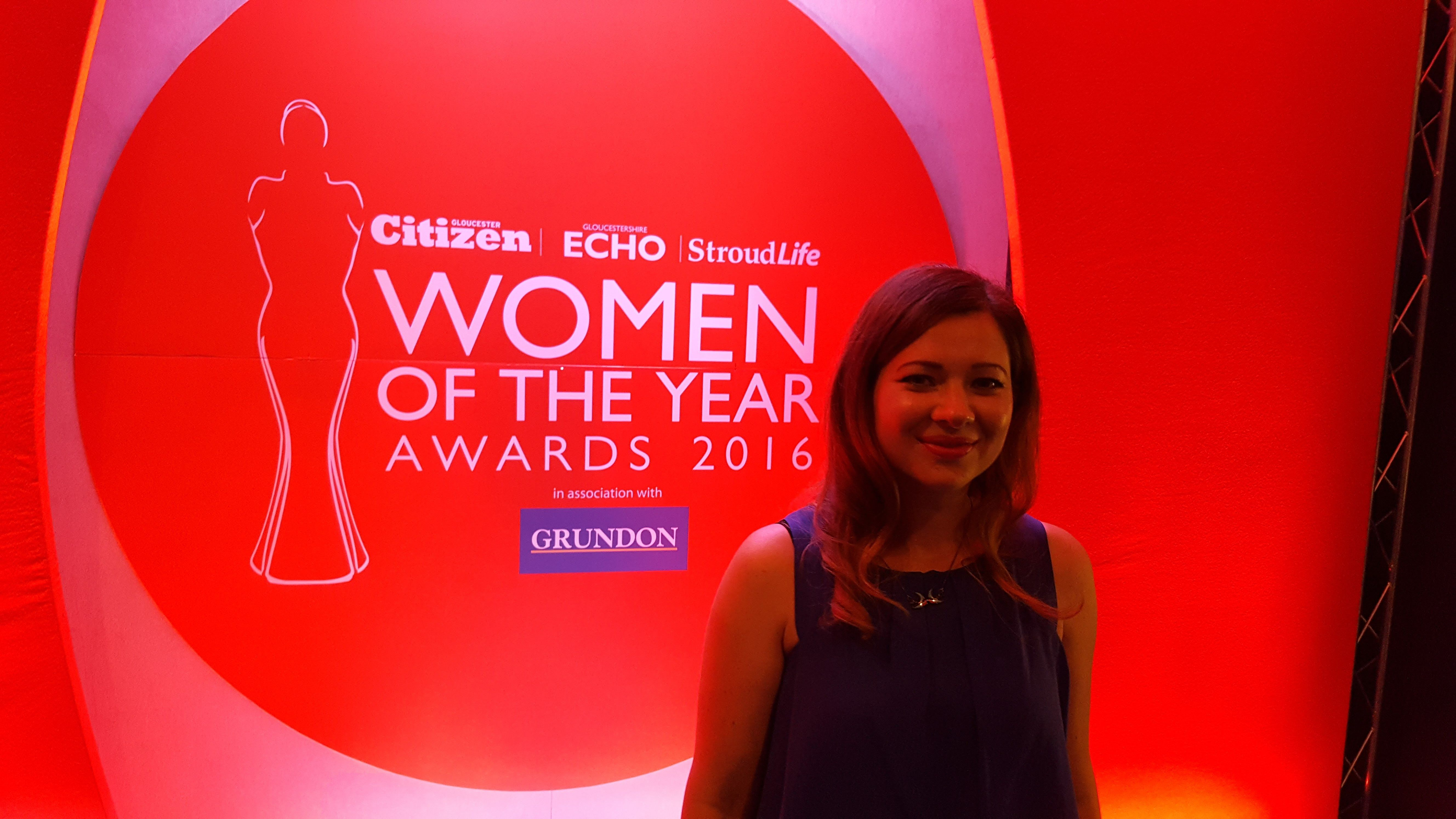 Georgina Thorne, Factory Pattern - Gloucestershire Women of the Year Awards 2016