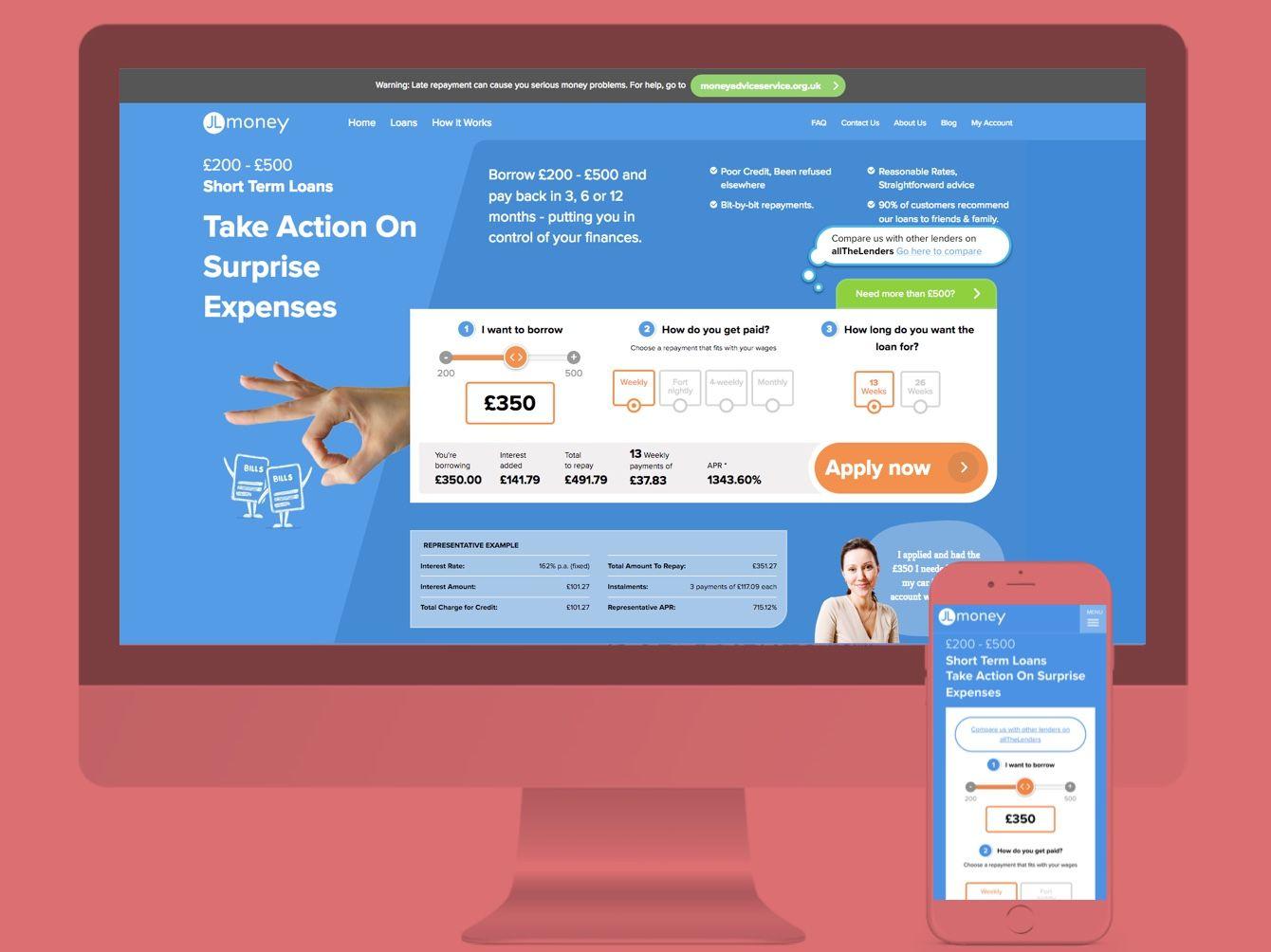Web Design for JL Money