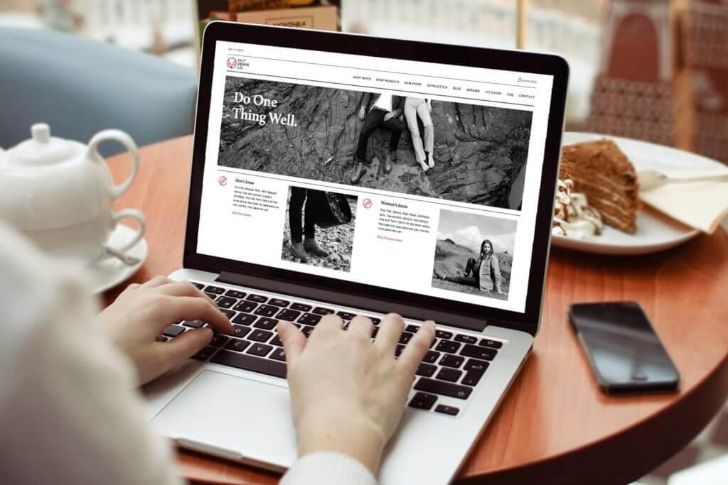 Hiut Denim Ecommerce Website