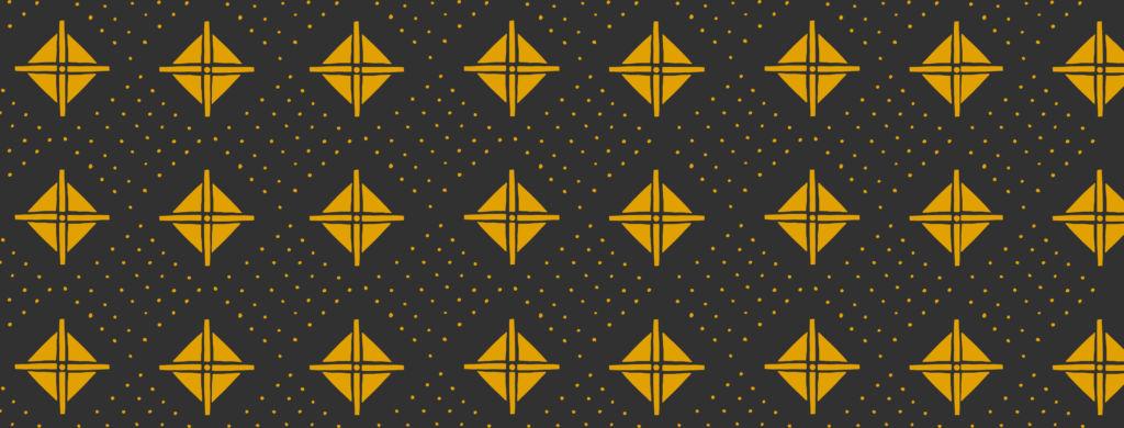 Dansaki yellow pattern