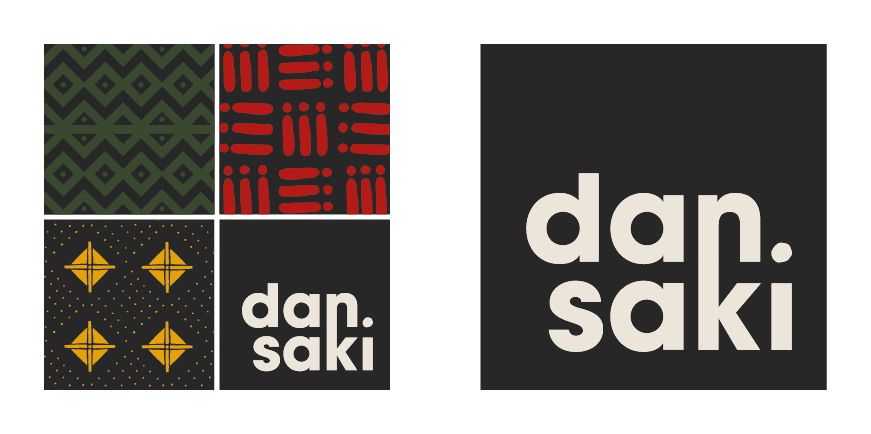 Main Dansaki logo with alternative version