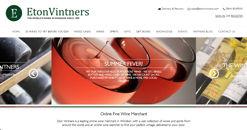 Eton Vintners Website