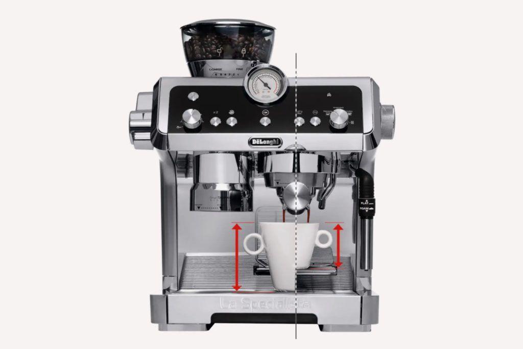 DeLonghi technical ecommerce product image
